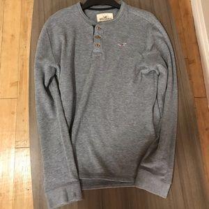 Hollister Grey Long Sleeve